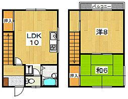 ハイツFUJI[2階]の間取り