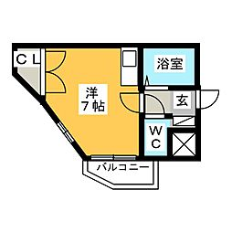フォルム太宰府[3階]の間取り