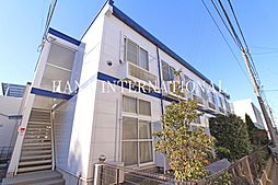 東京都三鷹市井口4丁目の賃貸アパートの外観