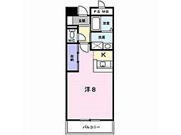 桐屋ビル[6階]の間取り
