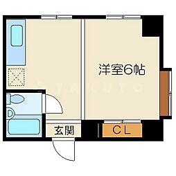 トレジャハウス[6階]の間取り