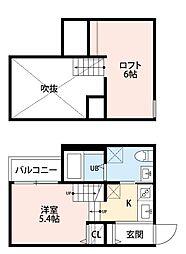 フローラ博多南[2階]の間取り
