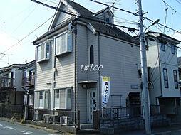 東京都青梅市東青梅2丁目の賃貸アパートの外観