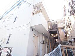 神奈川県川崎市多摩区南生田の賃貸マンションの外観