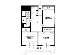 田代マンション[2階]の間取り