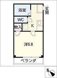 プリミエールKATO[1階]の間取り