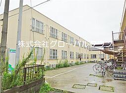 埼玉県越谷市大字南荻島の賃貸マンションの外観