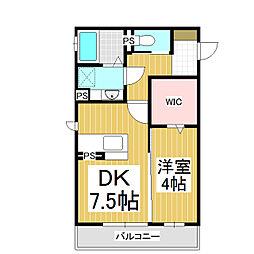 仮)南長野D-room[203号室]の間取り