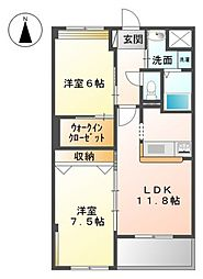 Casa Grande[3階]の間取り