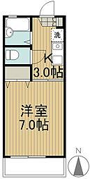 ハイムタビラコ[1階]の間取り