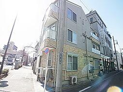 東京都葛飾区白鳥1の賃貸アパートの外観