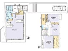 建物面積130.0m2。プラン作成:住友不動産株式会社。