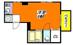 コンラッド布施 4A号室[4階]の間取り