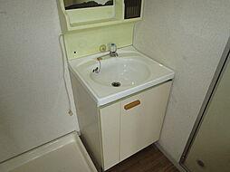 田辺ハイツの独立洗面台