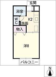 フレンズ・21[2階]の間取り