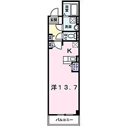 アウル[1階]の間取り