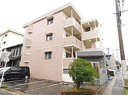 福岡県北九州市小倉北区須賀町の賃貸マンションの外観
