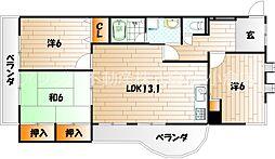第17共立ビル[2階]の間取り