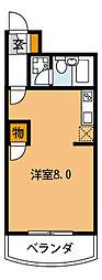 大阪府豊中市庄内東町4丁目の賃貸マンションの間取り