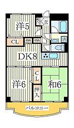 MMビル[7階]の間取り