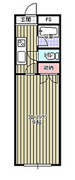 穴川ハイリビング弐番館[505号室]の間取り