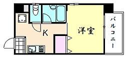 マンションSGI朱雀大路[402号室]の間取り
