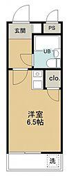 煉瓦館32[102号室号室]の間取り