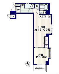 The Orchid Manor(ジ・オーキッド・マナー)[1階]の間取り