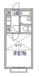 エクセル6[2階]の間取り