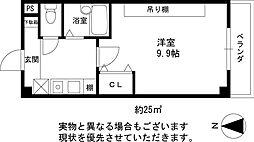 桜ヶ丘晴楽館[3階]の間取り