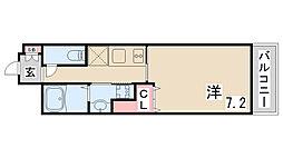 レジデンス神戸グルーブハーバーウエスト[6階]の間取り