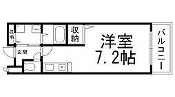 サンライズ栄和[0107号室]の間取り
