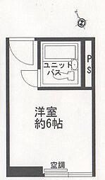 マンションサンクレール[704号室]の間取り