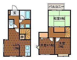 [テラスハウス] 神奈川県川崎市麻生区王禅寺西3丁目 の賃貸【/】の間取り