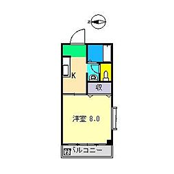 JOINハイツ[3階]の間取り