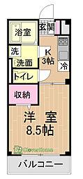 Etoile[2階]の間取り