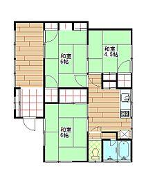 [一戸建] 神奈川県三浦市栄町 の賃貸【/】の間取り