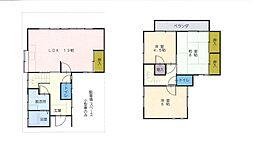 [テラスハウス] 神奈川県大和市西鶴間1丁目 の賃貸【神奈川県 / 大和市】の間取り