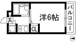 メゾンジュリアナモンド[2階]の間取り
