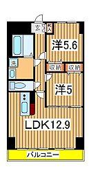 K.Mおおたかの森[7階]の間取り