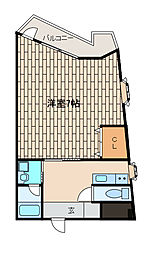 東邦レジデンス[3階]の間取り