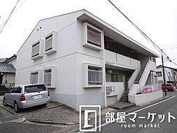愛知県みよし市三好町蜂ヶ池の賃貸マンションの外観