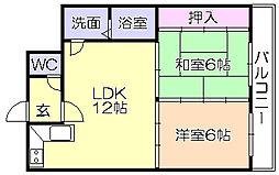 SKサンコ-諏訪野[503号室]の間取り
