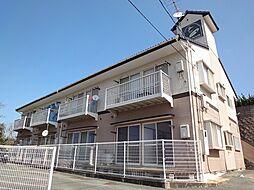 福岡県宗像市田久5丁目の賃貸アパートの外観