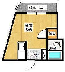 B-INハウス[507号室]の間取り