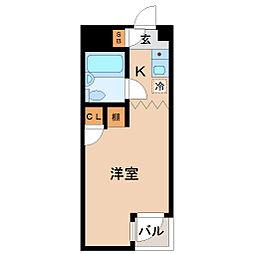 メゾン・ド・サンパティー[3階]の間取り