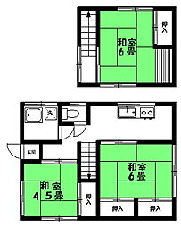 [一戸建] 茨城県取手市井野 の賃貸【/】の間取り