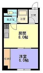 日昇ビル[3階]の間取り