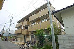 大阪府大阪市生野区中川西1丁目の賃貸アパートの外観