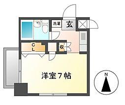 ホワイトヒルズ東桜[10階]の間取り